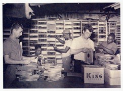King Records Shipping Department